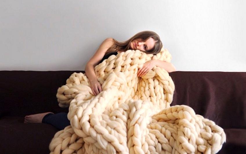 Les couettes tricotées, le nouveau DIY tendance