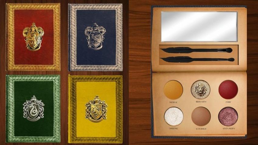 Les palettes Make-up d'Harry Potter qui ensorcèlent la toile