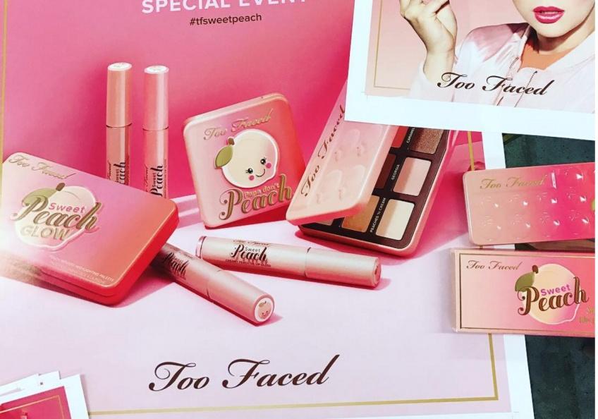 Sweet Peach : la nouvelle collection Too Faced qu'on va s'arracher !