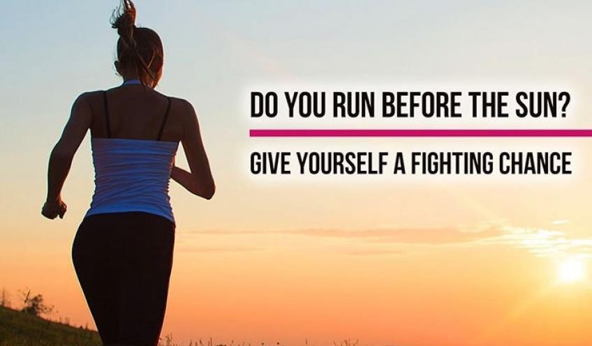 Vous n'aurez plus jamais peur de courir seule avec cette bague d'auto-défense !