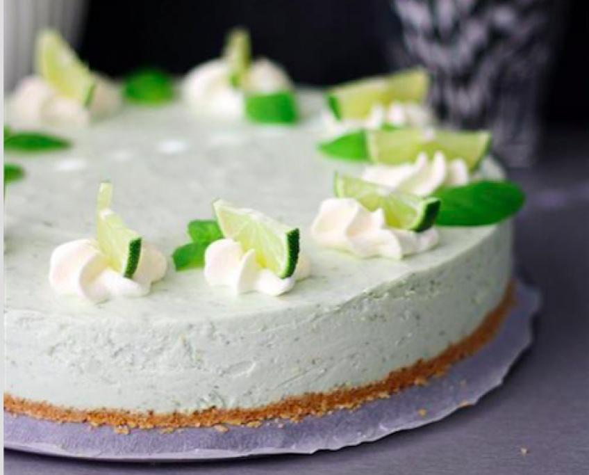 Pause gourmandise : le cheesecake Mojito !
