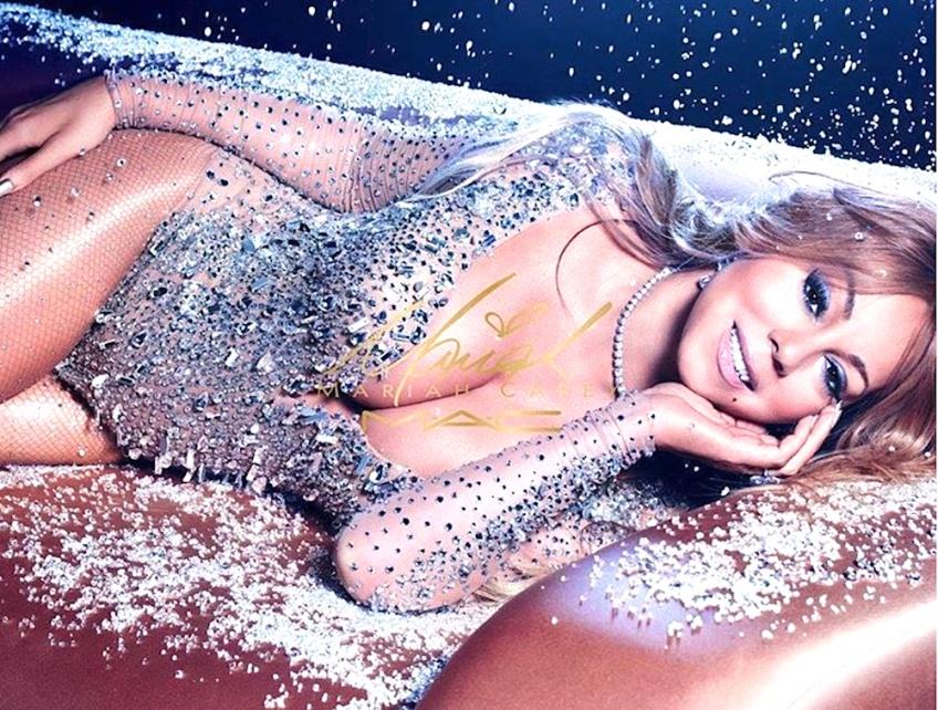 Mariah Carey x MAC Cosmetics, pour un Noël glamour et pailleté !