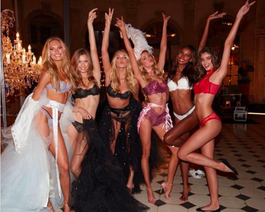 Les tenues des anges de Victoria's Secret pour Halloween l'an dernier !