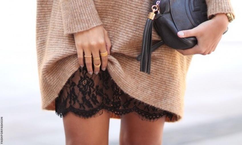 #Tendance : des dessous en dentelle pour habiller ses jambes