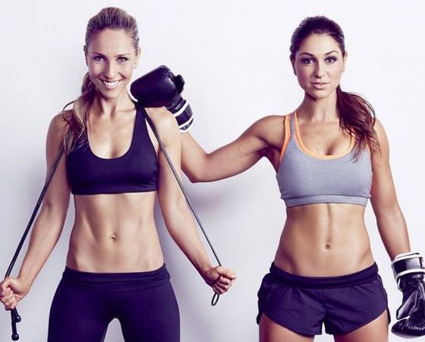 5 exercices de fitness à faire avec sa meilleure amie