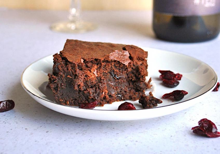 Un brownie au vin rouge et au chocolat : la dernière Food Folie US !