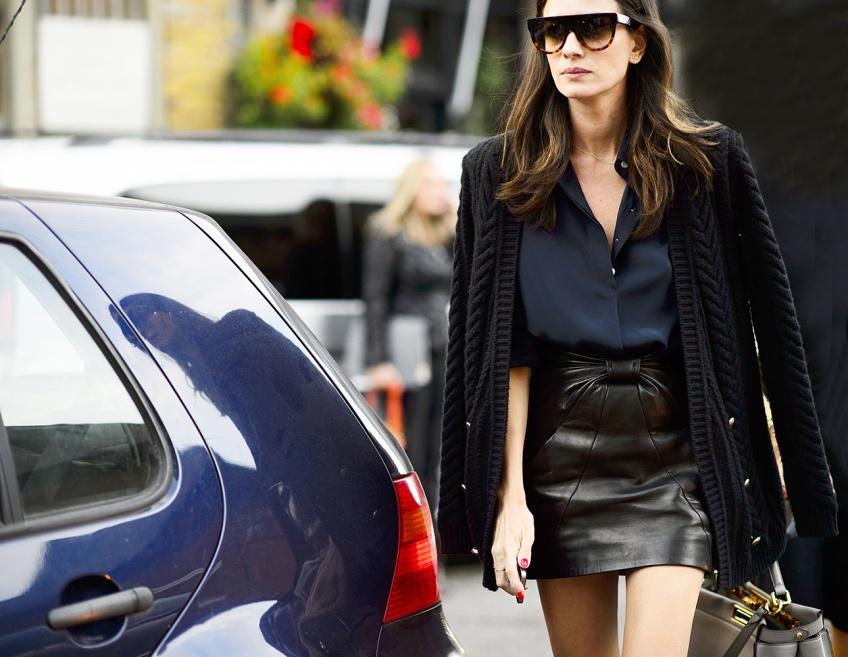 25 superbes jupes noires pour toutes vos sorties
