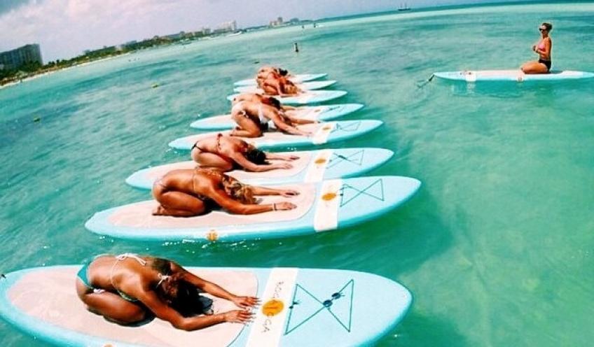 Parenthèse sportive #38 : Le yoga sur l'eau pour vous relaxer et vous muscler incroyablement