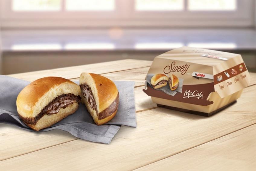McDonald's lance son premier burger au Nutella