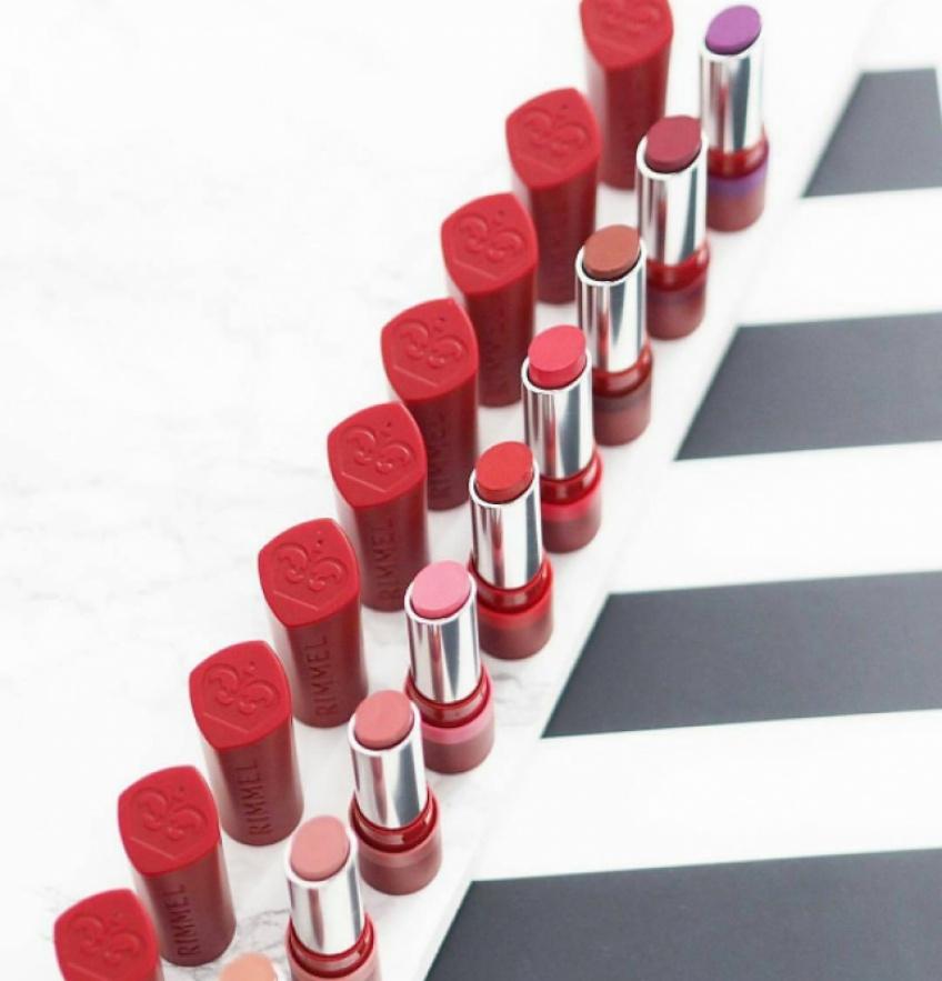 Rimmel lance sa gamme de rouges à lèvres mats ultra-tendance