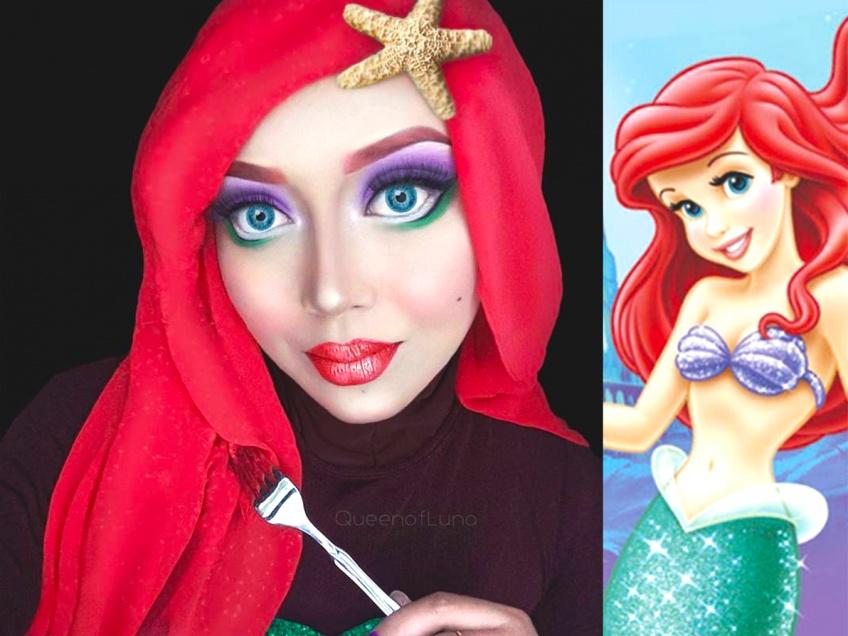 Cette make-up artist reproduit toutes les princesse Disney à la perfection