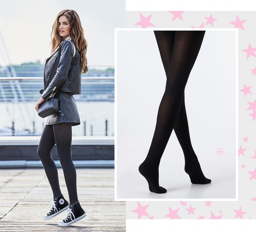Calzedonia crée des collants adaptés à vos baskets !