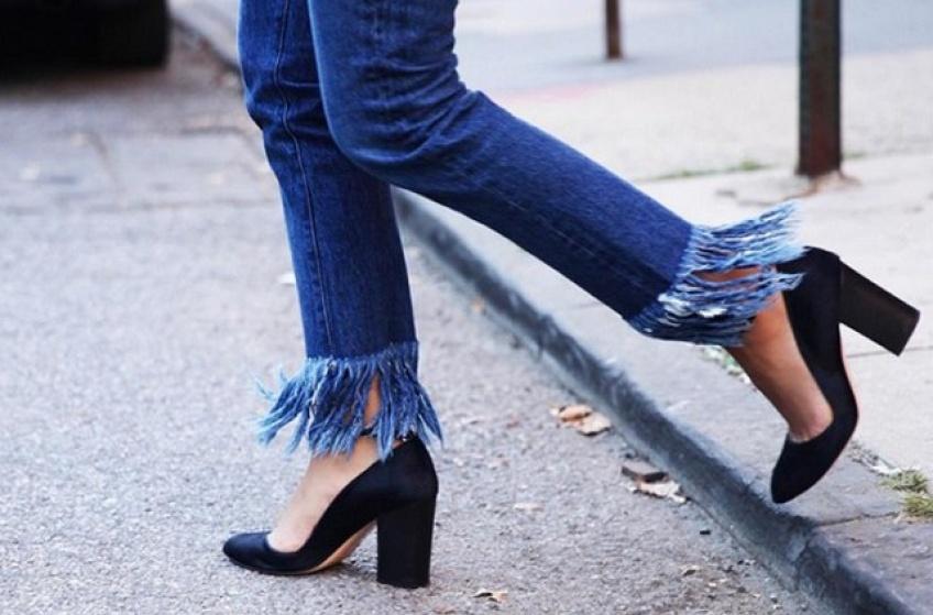 #DIY : réalisez le jean à franges de vos rêves