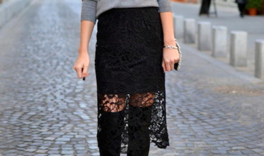 20 jupes en dentelle pour un look élégant et sensuel !