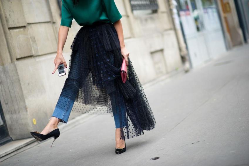 Mardi #Shoesday : Des talons noirs pour être parée aux fêtes de fin d'année !