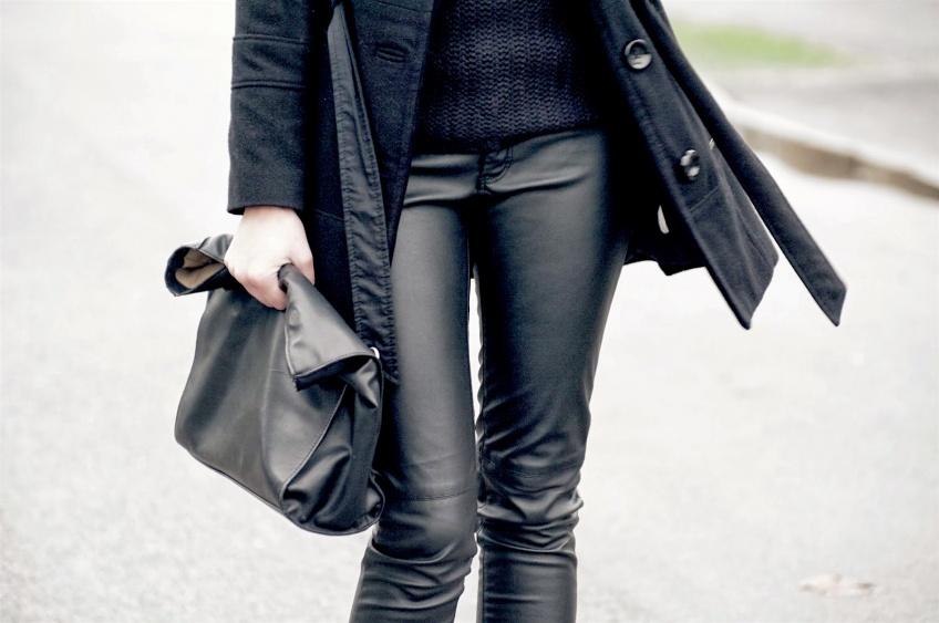 25 pantalons en cuir pour un look rock et sexy