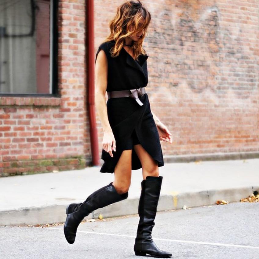 Mardi #Shoesday : 25 paires de cuissardes plates pour pimenter votre style cet hiver