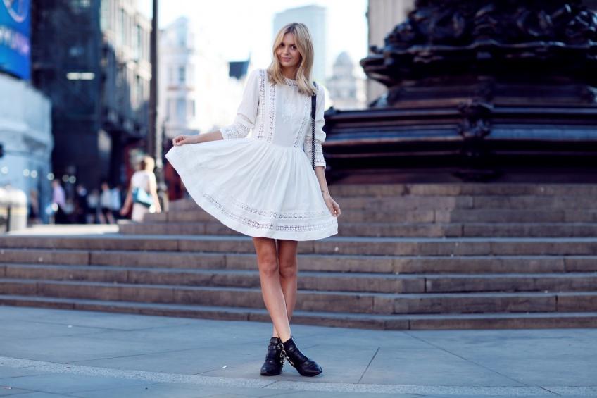 25 petites robes patineuses pour un look romantique et candide