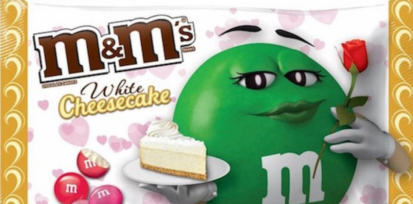 Nouveauté : l'édition limitée de de M&M's au cheesecake pour la Saint-Valentin !
