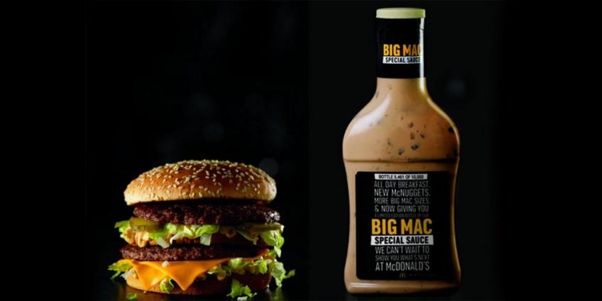 La sauce du Big Mac bientôt commercialisée