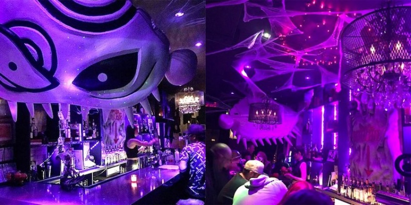 Un bar Tim Burton a ouvert ses portes à New-York