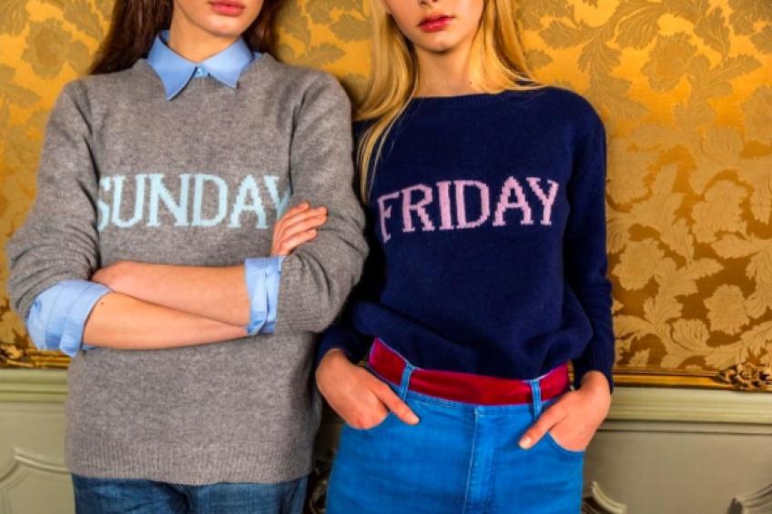 #Tendance : Un pull pour chaque jour de la semaine avec Alberta Ferretti