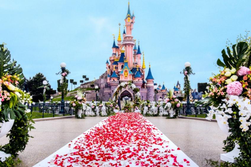 Il est désormais officiellement possible de se marier à Disneyland Paris