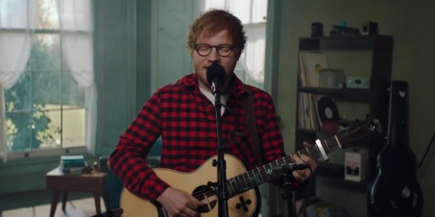 Ed Sheeran dévoile une nouvelle chanson pour son anniversaire !