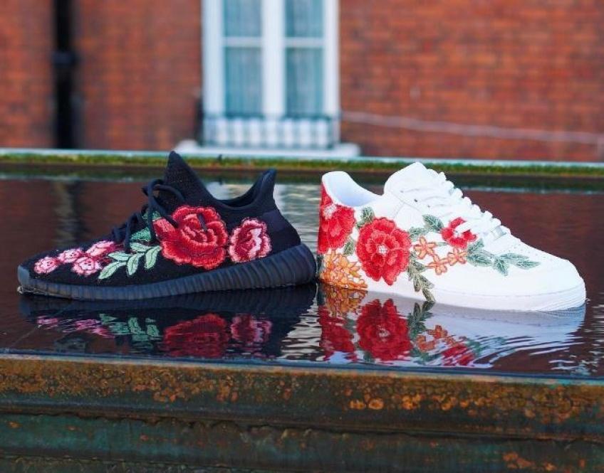 #News : on craque pour FRE Customs, la nouvelle marque londonienne qui brode nos baskets