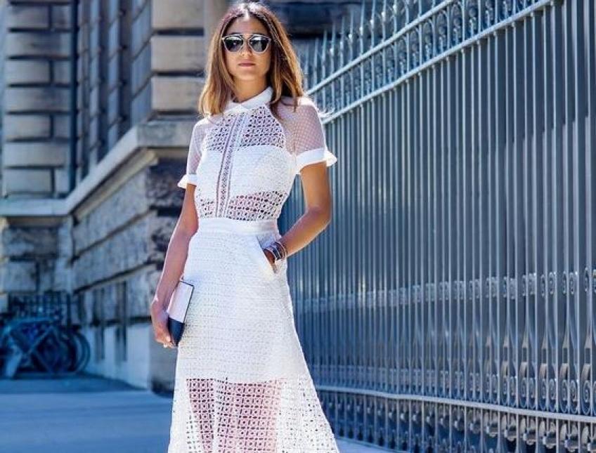 35 splendides robes blanches pour fêter le retour des beaux jours