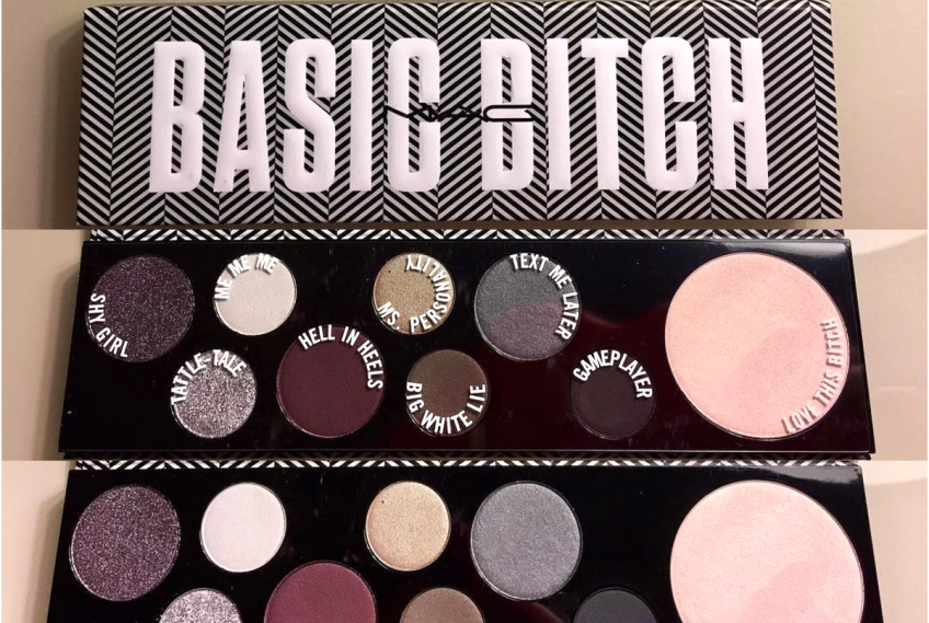 MAC Cosmetics vient d'annoncer la sortie d'une nouvelle palette de fards à paupières 'Basic Bitch'