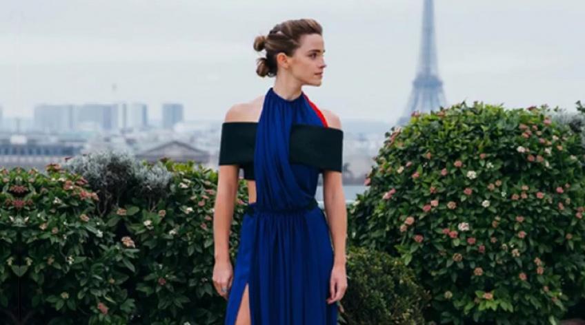 #News : Emma Watson nous donne une leçon de mode durable avec son nouveau compte Instagram