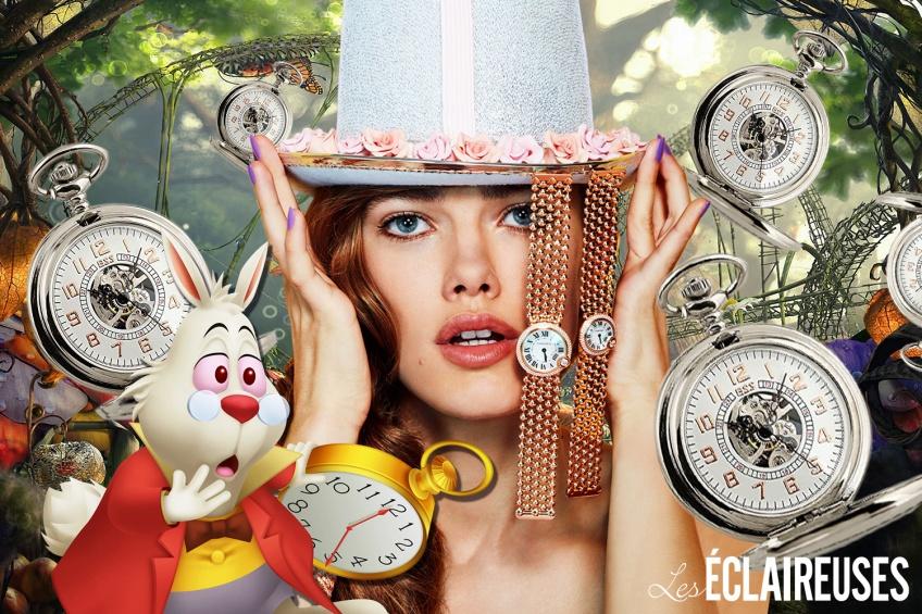 Quelle heure est-il ? L'heure d'embarquer pour le Pays des Merveilleuses montres !