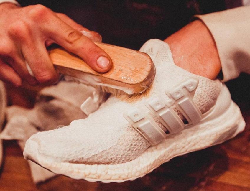 Il existe maintenant des shops où l'on chouchoute vos sneakers !
