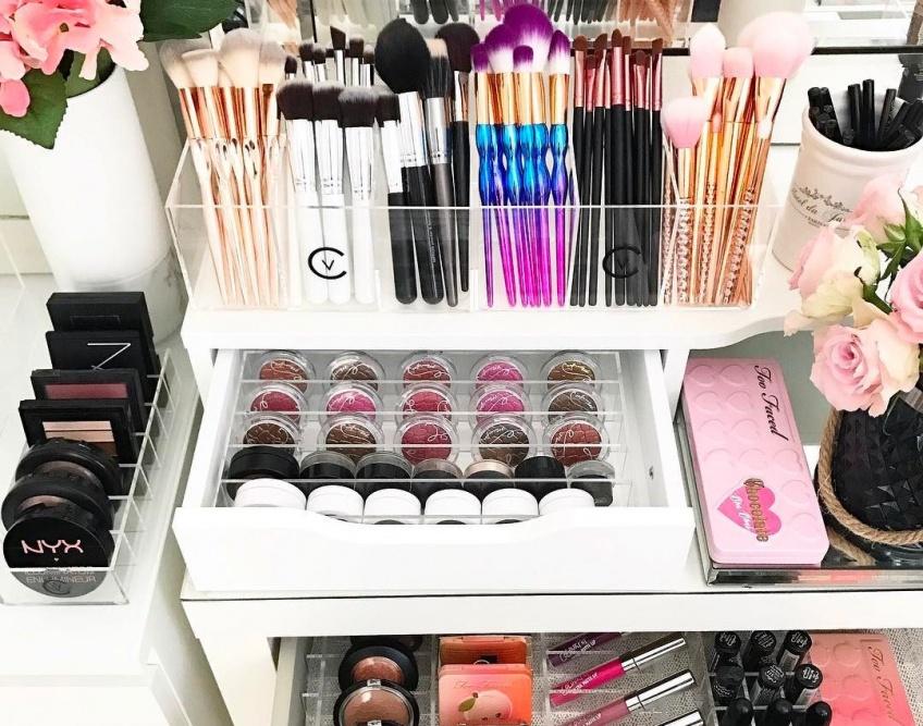 25 rangements trouvés sur Amazon pour organiser votre make-up comme une pro