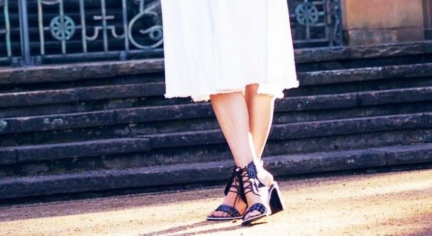 Mardi #Shoesday : 30 sandales à petits talons très mignons, à porter au quotidien
