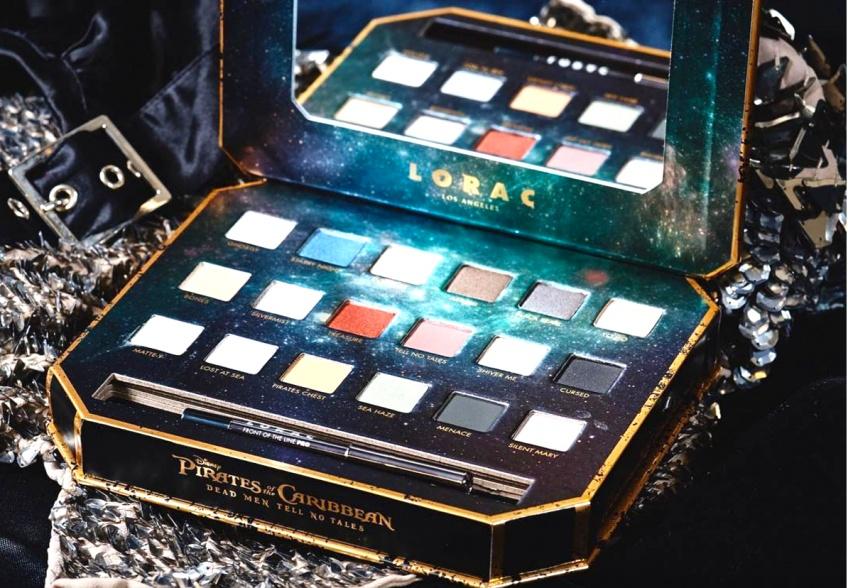 Lorac Cosmetics x Pirates des Caraïbes : la collection ensorcelante inspirée du film