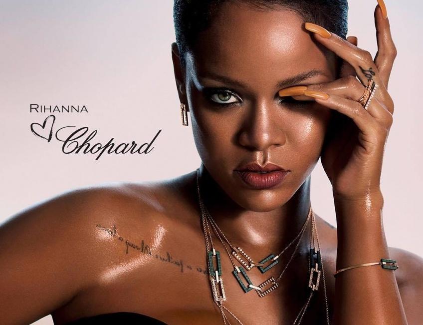 Après les podiums, Rihanna s'attaque à la joaillerie et signe deux collections avec Chopard