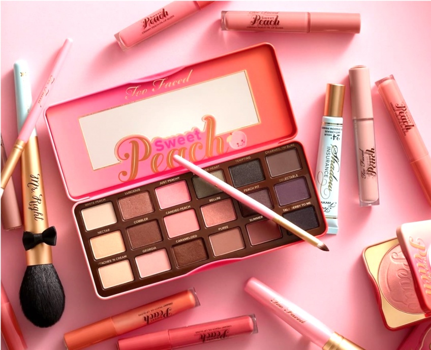 10 raisons qui prouvent que la collection Sweet Peach de Too Faced est la collection star de l'été 2017