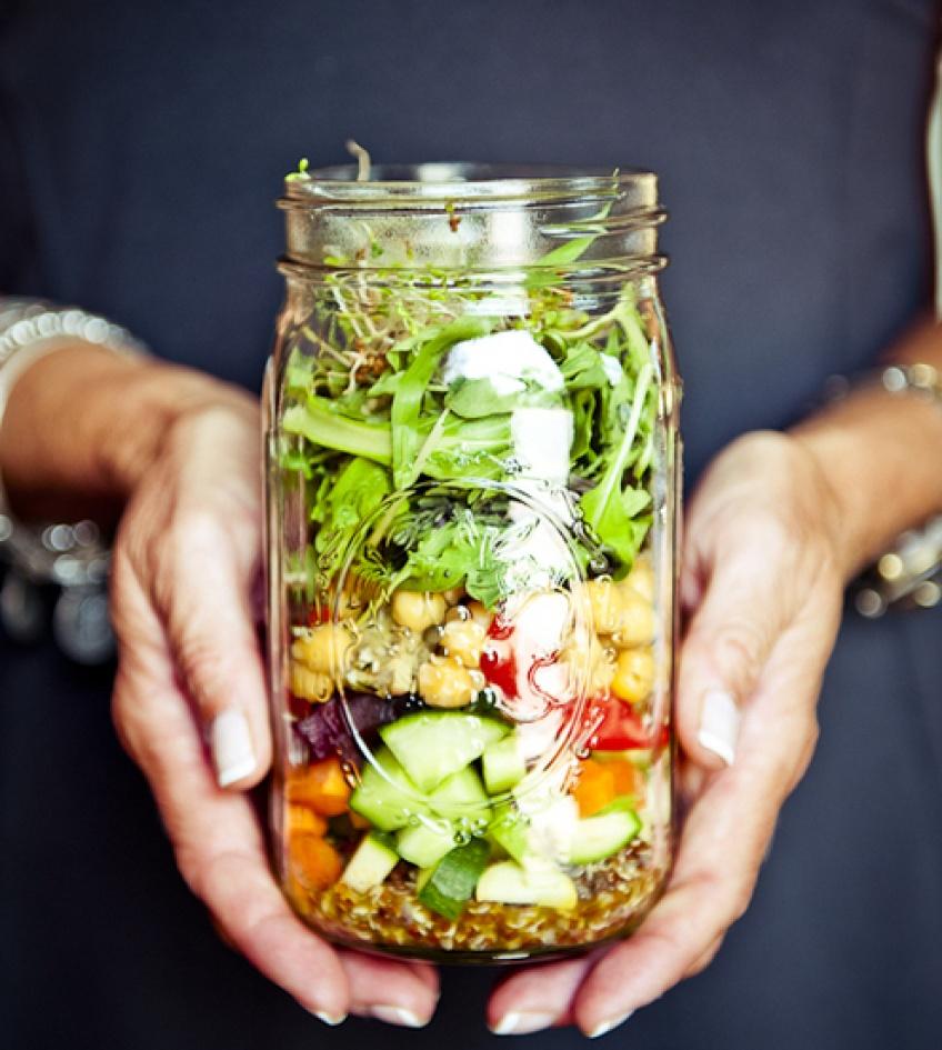Salad Jar : l'idéal en bocal