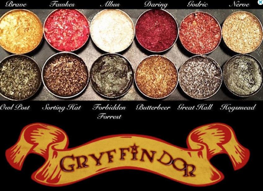 Ces palettes Harry Potter dévoilées sur Etsy rendent folles les adeptes de make-up