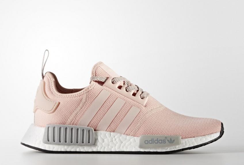 Les millennials craquent complètement pour l'alliance du rose et du gris de ces baskets adidas