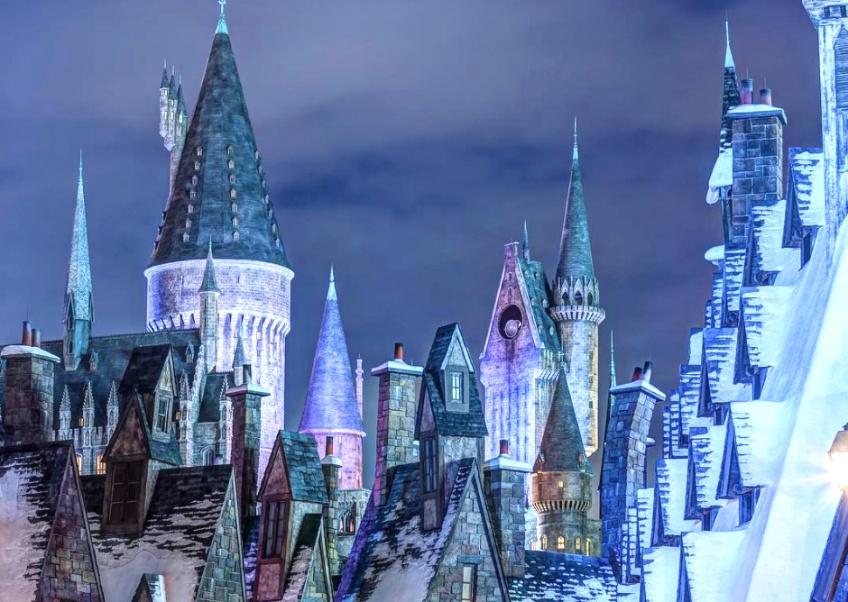 L'univers Harry Potter du parc Universal Studio à Orlando passera en mode Noël cet année