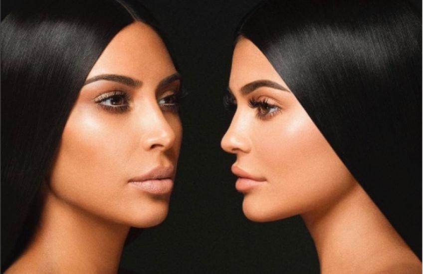 La collaboration surprise entre Kylie Cosmetics et Kim Kardashian
