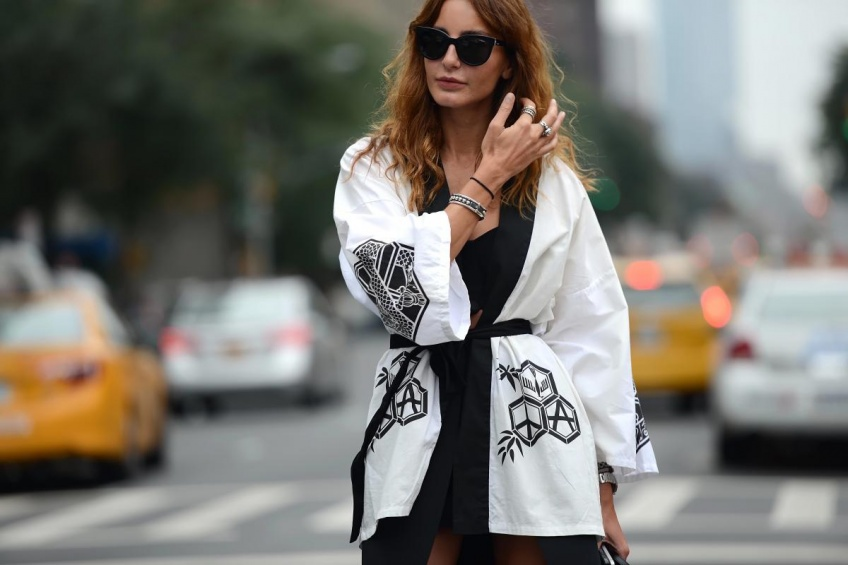 De jour comme de nuit, on adopte le kimono tout l'été