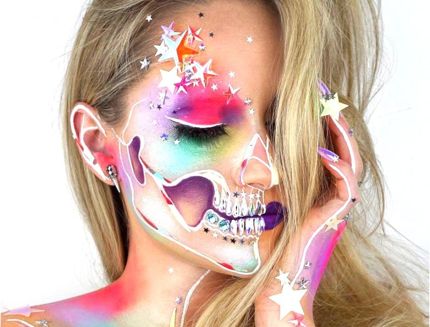 Cette make-up artist et ses créations 'Skeleton' affolent la toile