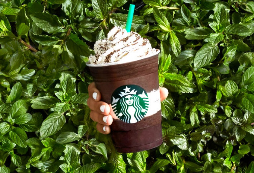 Midnight Mint Mocha : Le nouveau frappuccino gourmand de Starbucks