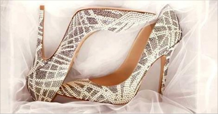 Mariage: 25 paires de chaussures de mariée à tomber