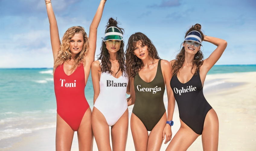 Alerte chez Calzedonia: Personnalisez votre maillot de bain et faites passez le message!