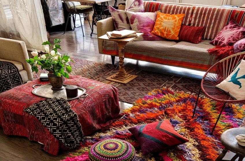 Un intérieur hippie pour vivre d'amour et de belle déco !